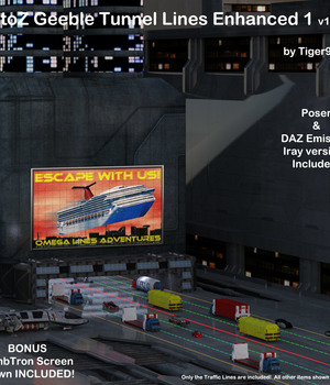 AtoZ Geeble Tunnel Lines 1 v1 Legacy Discounted Content AtoZ