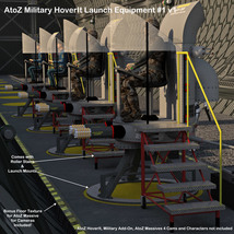 AtoZ HoverIt Launch Stand #1(&2) v1 image 1
