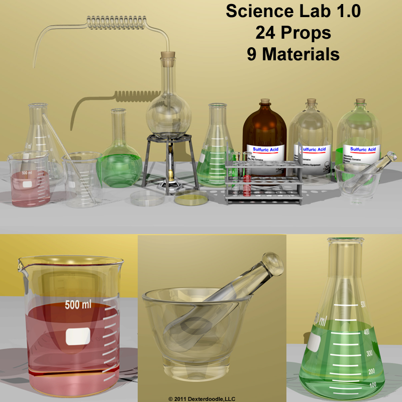 Science Lab and Chemistry Set
