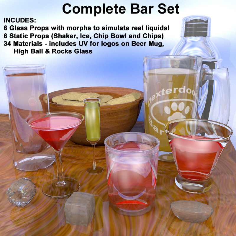 Morphing Bar Glasses and Accessories