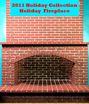 2011 Holiday Collection Fireplace 3D Models dexterdoodle