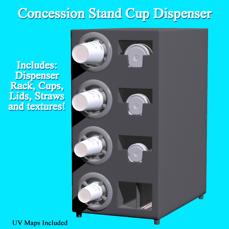 Concession Stand Cup Dispenser