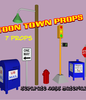 Toon Town Props Legacy Discounted Content uncle808us