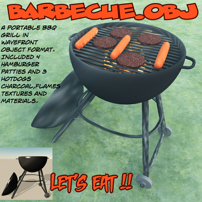 barbecue.obj