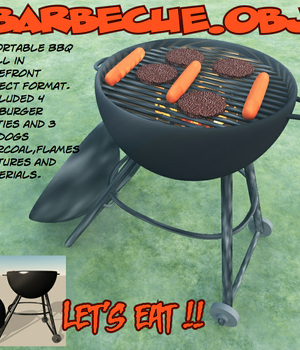 barbecue.obj Legacy Discounted Content uncle808us