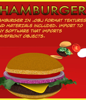Hamburger.obj Legacy Discounted Content uncle808us