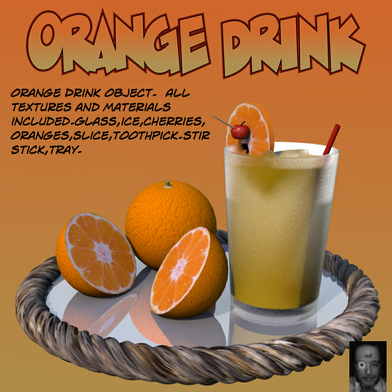 OrangeDrink.obj by uncle808us