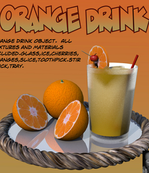 OrangeDrink.obj Legacy Discounted Content uncle808us