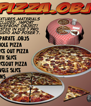Pizza.obj Legacy Discounted Content uncle808us