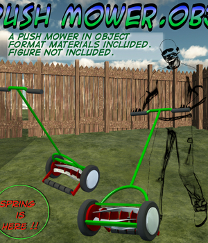 Push Mower.obj Legacy Discounted Content uncle808us