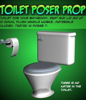 Toilet Poser prop Legacy Discounted Content uncle808us