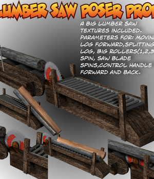 LumberSaw Poser prop Legacy Discounted Content uncle808us