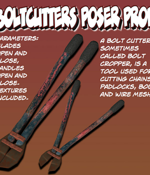 Boltcutters Poser Prop Legacy Discounted Content uncle808us