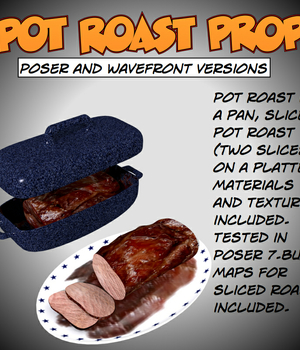 Pot Roast Poser prop Legacy Discounted Content uncle808us