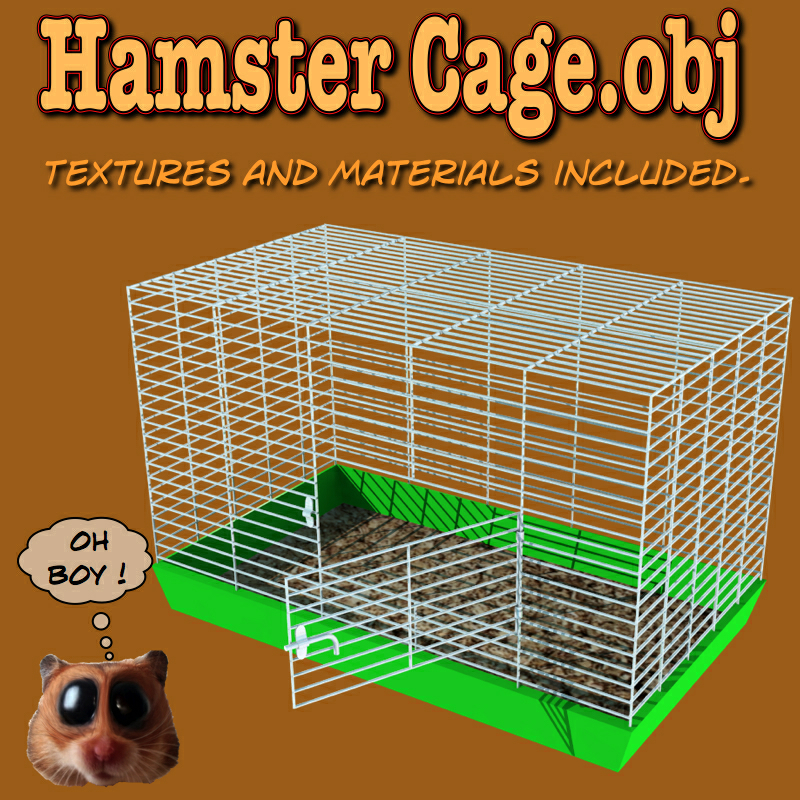 HamsterCage.obj by uncle808us