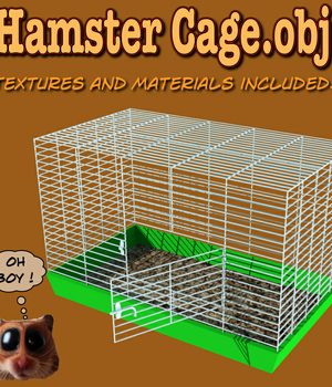HamsterCage.obj Legacy Discounted Content uncle808us