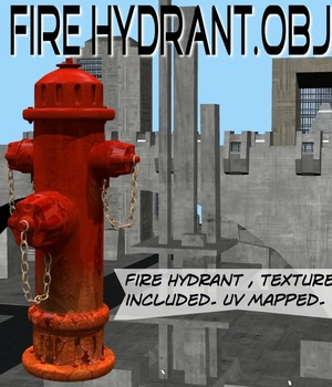 FireHydrant.obj Legacy Discounted Content uncle808us