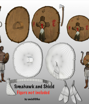 Tomahawk and Shield Legacy Discounted Content uncle808us