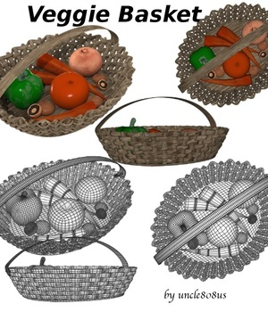 Veggie Basket Legacy Discounted Content uncle808us