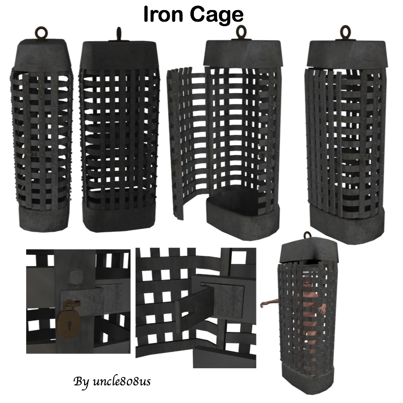 Iron Cage by uncle808us