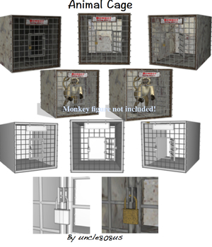 Animal Cage Legacy Discounted Content uncle808us