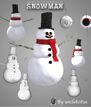 Snowman Legacy Discounted Content uncle808us