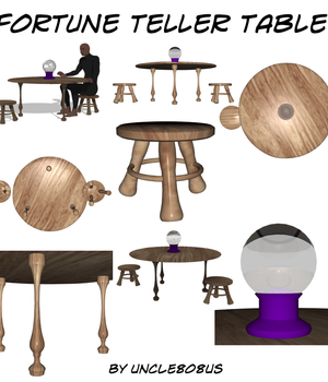 Fortune Teller Table Legacy Discounted Content uncle808us