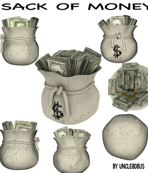Sack Of Money Legacy Discounted Content uncle808us