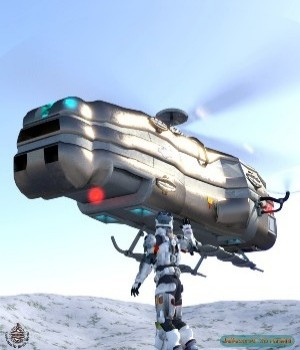 Cargo Drone 3D Models JeffersonAF