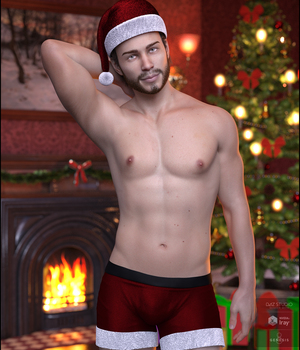 Xmas Nights for Genesis 8 Males 3D Figure Assets DemonicaEvilius