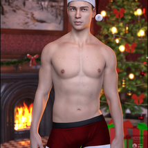 Xmas Nights for Genesis 8 Males image 2