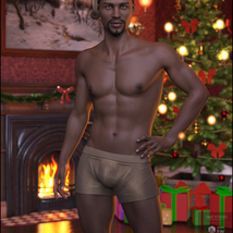 Xmas Nights for Genesis 8 Males image 6