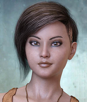 Charlie for Genesis 8 Female 3D Figure Assets 3Divaa