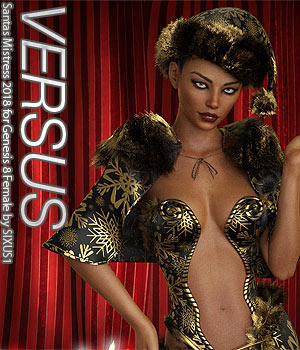 VERSUS - Santas Mistress 2018 for Genesis 8 Female 3D Figure Assets Anagord