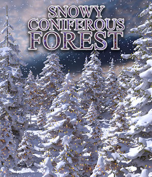 Flinks Snowy Coniferous Forest 3D Models Flink