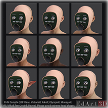 PROTOTYPE-X :-: Robotic Face for G8F image 2