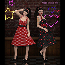 FRQ Dynamics: Rockabilly Dress image 2
