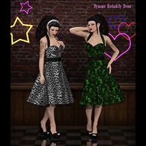 FRQ Dynamics: Rockabilly Dress image 3