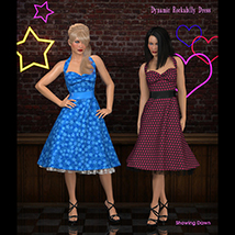 FRQ Dynamics: Rockabilly Dress image 5
