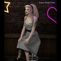 FRQ Dynamics: Rockabilly Dress image 7
