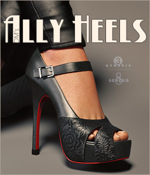 DMs Ally Heels by DM