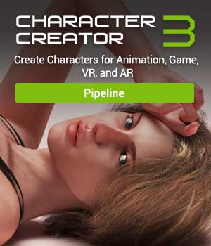 Character Creator 3 - Standalone Reallusion Software - CC3 - iClone 3D Software : Poser : Daz Studio Reallusion