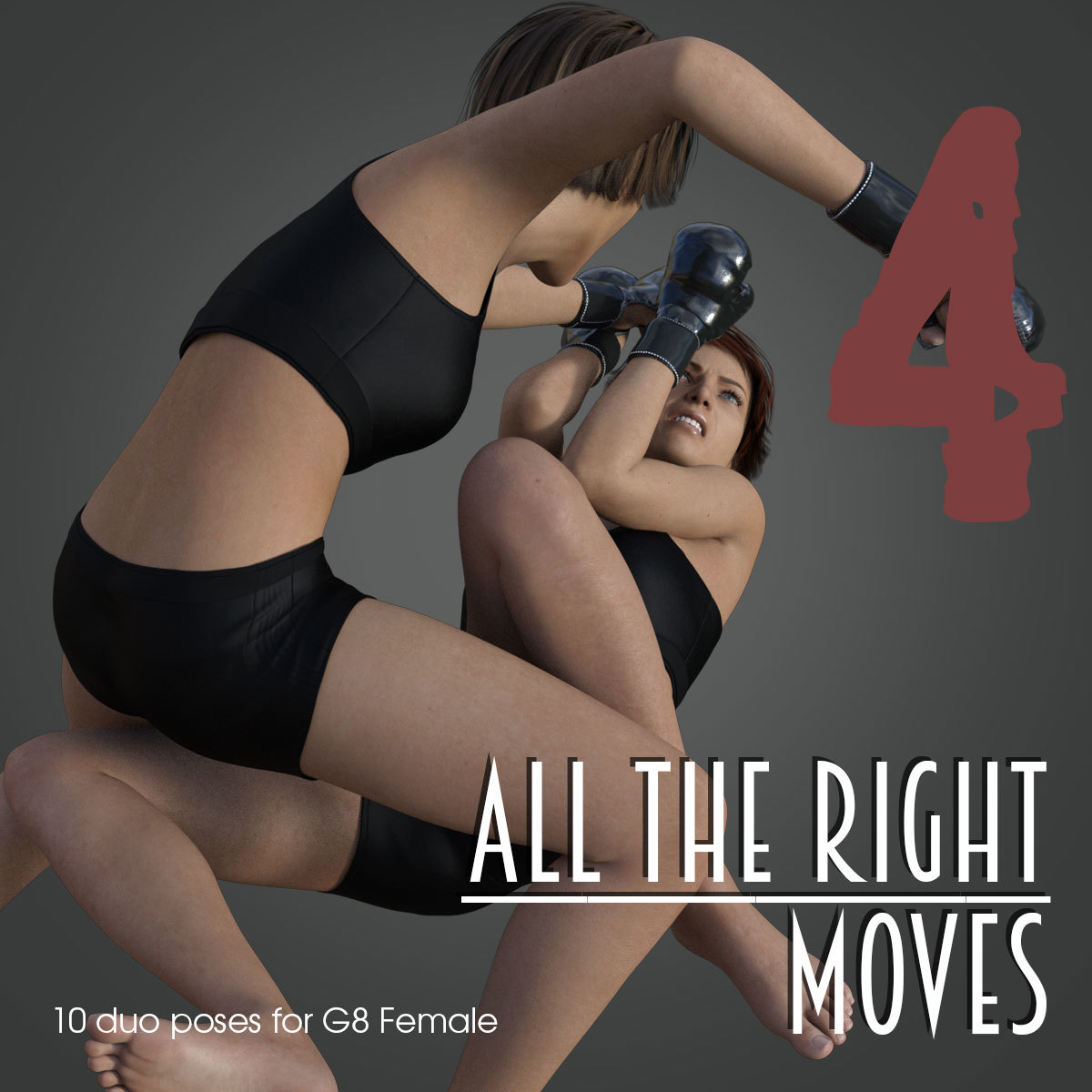 ALL THE RIGHT MOVES vol.4 for Genesis 8 Female