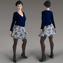Winter Chill for Genesis 8 Females image 1