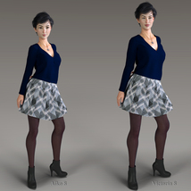 Winter Chill for Genesis 8 Females image 3