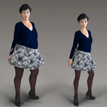 Winter Chill for Genesis 8 Females image 4