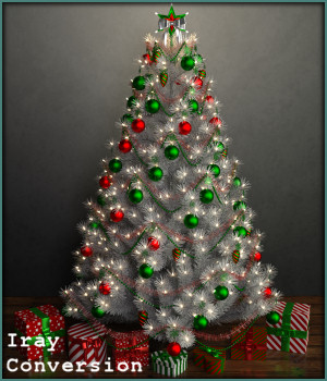Tales for the Christmas Tree Daz Iray 3D Figure Assets -Wolfie-
