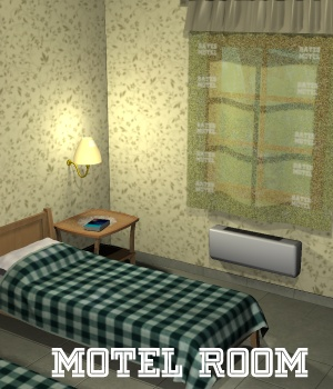 Motel Room - Extended License 3D Models Extended Licenses greenpots
