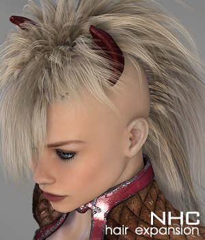 NHC Expansion : Pony Tail 3D Figure Assets digiPixel