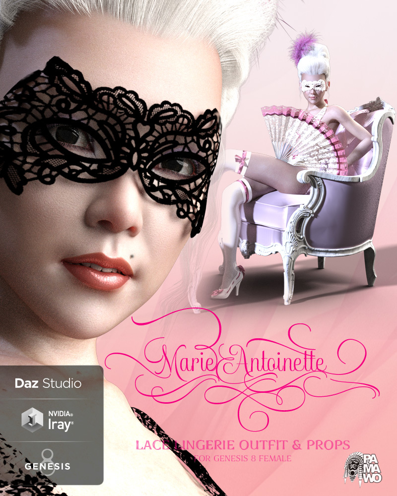 Marie Antoinette for DS by pamawo
